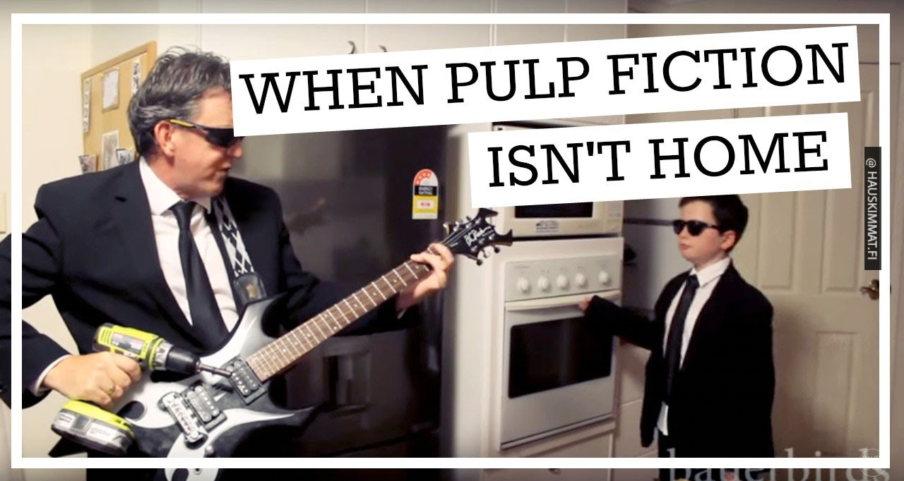 When Pulp Fiction Isn T Home Oven Kid