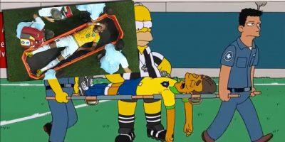 Simpsonit ennustivat Neymarin loukkantumisen