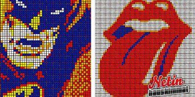 Nämä pikseli taideteokset ovat tehty hämmästyttävällä tavalla – Katso kuvat!