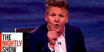Gordon Ramsay maistoi ananasta pitsassa – katso, mitä hän sanoo!