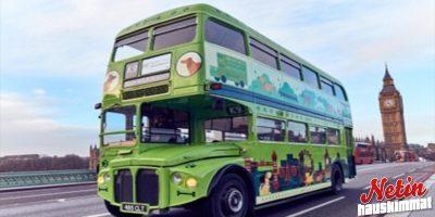 Maailman ensimmäinen kiertoajelu bussilla koirille – ja ilmaiseksi!