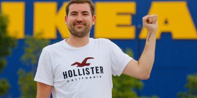 Mies osoittautui todelliseksi Ikea-faniksi – otti muun muassa tatuoinnin