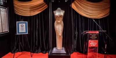 Tältä näyttää maailman kallein mekko – mekko oli Marilyn Monroen.