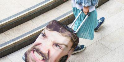 Oma naama matkalaukussa? Nerokas idea!