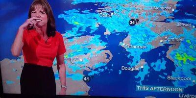 BBC:n säätoimittaja ei voi lopettaa nauramista – katso hulvaton video!