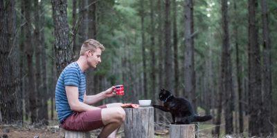 Mies otti lopputilin, myi kaiken ja lähti kissansa kanssa matkustelemaan – 6 kuvaa