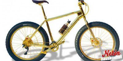 Tässä on maailman kallein maastopyörä! – Tehty 24 karaatin kullasta!