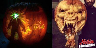 Halloween ja hurjat kurpitsat! – Osaatko pistää paremmaksi?