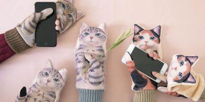 Rakastatko kissoja? – Jos kyllä, niin nämä lapaset ovat juuri sinulle!