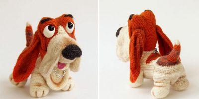 Venäläinen taiteilija neuloo ihania jouluaiheisia koiria! Katso kuvat!