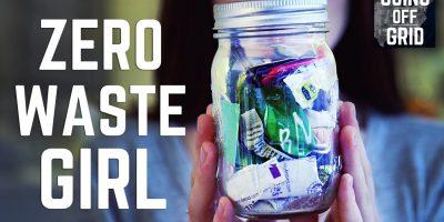 Tämä nainen elää täysin ilman jätettä ja roskaa. Katso miten!