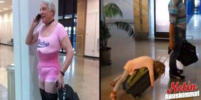 Lentoasemalla sattuu ja tapahtuu! – Kannattaa katsella ympärilleen!
