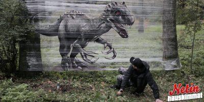 Oletko ennen nähnyt spraymaalattuja eläimiä? – Katso 6 upeaa kuvaa!