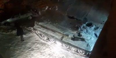 Humalainen mies rysäytti panssarivaunulla kauppaan – varastaakseen lisää alkoholia.