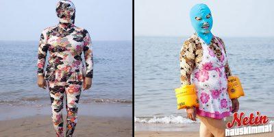 Kiinalaisnaisten niksi pitää ihonsa suojassa auringolta! – Oletko nähnyt näitä asuja ennen?