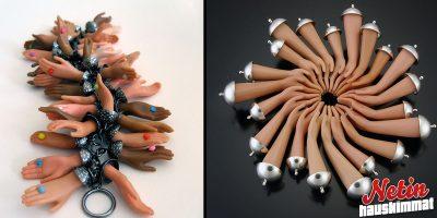 Nämä korut on tehty barbie-nuken osista! – Käyttäisitkö?