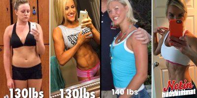 Nämä kuvat todistavat että kilot ovat vain numeroja! – Katso ennen ja jälkeen kuvat!