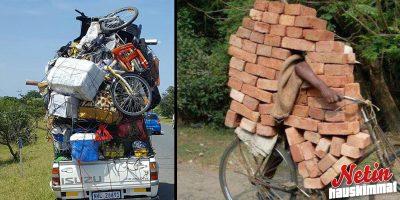 Näin tavaroita ja ihmisiä kuljetetaan maailmalla! – Näitä kuvia et nauramatta katso!