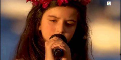 Laulaa kuin ammattilainen – ja hän on vain 8-vuotias!