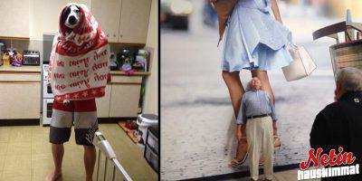 Nämä kuvat todistavat että miehet ovat ikuisia lapsia! – Onko tuttuja tilanteita?