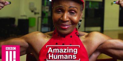 Tässä on maailman vanhin kehonrakentaja! 81-vuotias mummo pumppaa rautaa!
