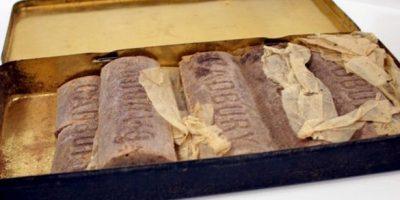 103 vuotta vanha suklaa myytiin huutokaupassa – näyttää vielä syötävältä!