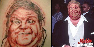 Näiden kuvien jälkeen pohdit tosissaan tatuoitko jonkun kasvot ihollesi!