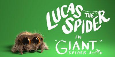 Emme saa tarpeeksemme Lucas-hämähäkistä! Katso uusi video!