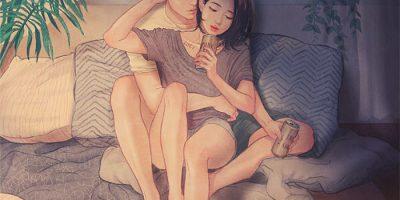 Korealainen taiteilija kuvittaa rakkauden niin hienosti, että tunnemme sen katsoessamme kuvia!