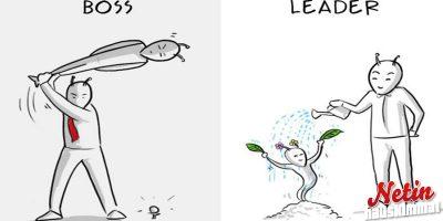 Oletko pomo vai johtaja? – Katso hauska sarjakuva!
