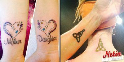 Äiti-tytär tatuoinnit ovat jo hitti! – Joko teillä on sellaiset?