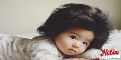 Tämä tyttö on vain puolivuotias! – Mutta katso mitkä hiukset!