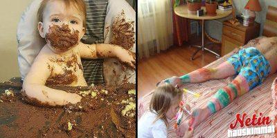 Rakkaat lapset! – Asuuko teilläkin pikku tihutyöläinen?