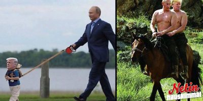 Internet mässäilee Trumpin ja Putinin tapaamisella! – Katso koomiset kuvat!
