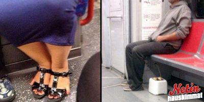 Mitä kaikkea metrossa voikaan nähdä – Katso kuvasarja!