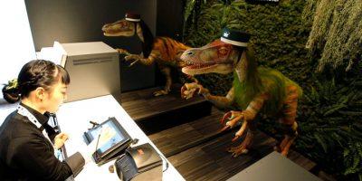 Japanilainen hotelli antaa dinosaurusten palvella sinua – melkoinen kokemus!