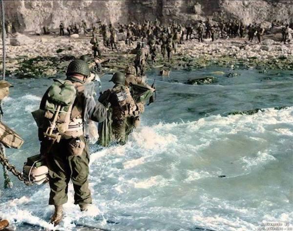 Nämä väritetyt kuvat toisesta maailmansodasta muuttavat käsityksesi historiasta - 17 kuvaa