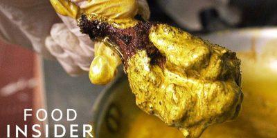 $1000 kultaiset kanankoivet – nyt on kallista ruokaa!