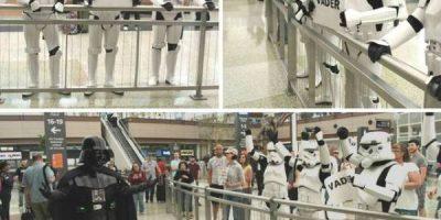 Lentokentät ovat outoja paikkoja – tai ainakin ihmiset siellä ovat