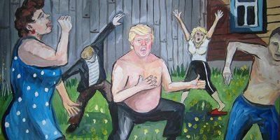 Miltä meno näyttäisi, jos Trump olisi syntynyt Venäjällä? – Taiteilijalla on vastaus