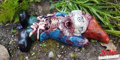 Zombi-puutarhatonttu pihallesi! – Pelästyisitkö itse?