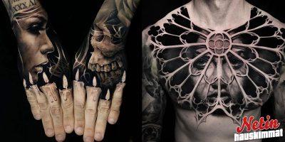 Nämä 3D tatuoinnit saavat pääsi pyörälle! – Katso uskomattomat kuvat!