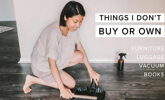 Tämä nainen harrastaa äärimmäistä minimalistisuutta – katso video!