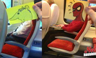 Kuinka saa ajan kulumaan junassa? – No tällä tavalla!