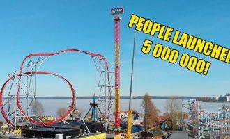 Kuinka huvipuistolaitteet liikkuu ja toimii?