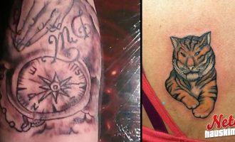 Järkyttävät tatuoinnit – Kuka tunnustaa omistavansa?