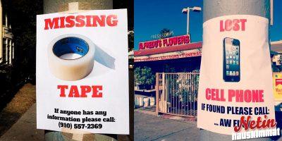 Komedia peittää Californian katuja – Nerokkaat pilajulisteet!