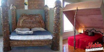 Nukkuisitko näissä? – Katso kuvat kummallisista sängyistä!