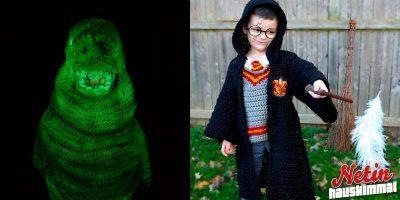 Äidin mielettömät virkkaustaidot – Kokovartalopuvut Halloweeniksi lapsille!