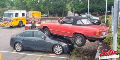 Miten tämä on mahdollista? – Nämä autot kokivat kovia!
